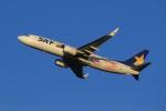 メンチカツさんが、新千歳空港で撮影したスカイマーク 737-86Nの航空フォト(写真)
