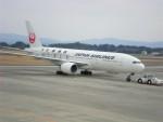 mukku@RJFKさんが、鹿児島空港で撮影した日本航空 777-246の航空フォト(写真)