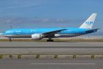 つみネコ♯2さんが、関西国際空港で撮影したKLMオランダ航空 777-206/ERの航空フォト(写真)