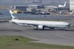しゃこ隊さんが、香港国際空港で撮影したキャセイパシフィック航空 777-367/ERの航空フォト(写真)