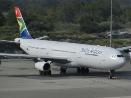 ヒロリンさんが、パース空港で撮影した南アフリカ航空 A340-313Xの航空フォト(飛行機 写真・画像)