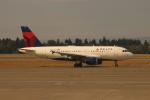 uhfxさんが、シアトル タコマ国際空港で撮影したデルタ航空 A319-114の航空フォト(飛行機 写真・画像)