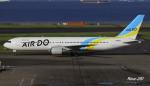 RINA-281さんが、羽田空港で撮影したAIR DO 767-381/ERの航空フォト(写真)