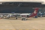 uhfxさんが、シアトル タコマ国際空港で撮影したホライゾン航空 DHC-8-202Q Dash 8の航空フォト(飛行機 写真・画像)