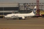 uhfxさんが、シアトル タコマ国際空港で撮影したアラスカ航空 737-990/ERの航空フォト(飛行機 写真・画像)
