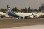uhfxさんが、シアトル タコマ国際空港で撮影したアラスカ航空 737-890の航空フォト(飛行機 写真・画像)