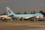 uhfxさんが、シアトル タコマ国際空港で撮影した大韓航空 747-8HTFの航空フォト(飛行機 写真・画像)