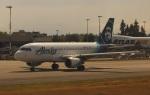 uhfxさんが、シアトル タコマ国際空港で撮影したアラスカ航空 A319-112の航空フォト(飛行機 写真・画像)