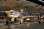 uhfxさんが、Smithsoniam, National Air and Space Museum, Steven F. Udvar-Hazy Center, Chantilly, Reston, VA.で撮影したアメリカ空軍 F-86Aの航空フォト(飛行機 写真・画像)