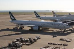 uhfxさんが、中部国際空港で撮影したキャセイパシフィック航空 777-367の航空フォト(写真)