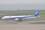 ずっきーさんが、羽田空港で撮影した全日空 A321-272Nの航空フォト(写真)
