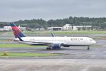ずっきーさんが、成田国際空港で撮影したデルタ航空 767-3P6/ERの航空フォト(写真)