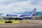 たーぼーさんが、横田基地で撮影したナショナル・エア・カーゴ 747-428(BCF)の航空フォト(写真)