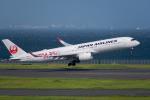 たかしさんが、羽田空港で撮影した日本航空 A350-941XWBの航空フォト(飛行機 写真・画像)