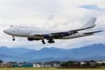 たーぼーさんが、横田基地で撮影したアトラス航空 747-412(BCF)の航空フォト(写真)