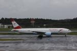 hiroki-JA8674さんが、成田国際空港で撮影したオーストリア航空 777-2Q8/ERの航空フォト(写真)