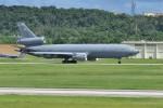 kumagorouさんが、嘉手納飛行場で撮影したアメリカ空軍 KC-10A Extender (DC-10-30CF)の航空フォト(写真)