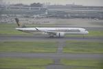 fukucyanさんが、羽田空港で撮影したシンガポール航空 A350-941XWBの航空フォト(飛行機 写真・画像)
