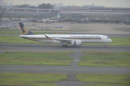 fukucyanさんが、羽田空港で撮影したシンガポール航空 A350-941の航空フォト(飛行機 写真・画像)