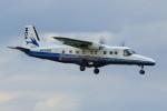 メンチカツさんが、調布飛行場で撮影した新中央航空 228-212の航空フォト(写真)
