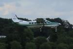 メンチカツさんが、調布飛行場で撮影した共立航空撮影 208 Caravan Iの航空フォト(写真)