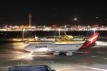 多摩川崎2Kさんが、羽田空港で撮影したカンタス航空 747-438の航空フォト(飛行機 写真・画像)