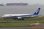 湖景さんが、羽田空港で撮影した全日空 767-381/ERの航空フォト(写真)