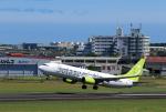 ひめままさんが、宮崎空港で撮影したソラシド エア 737-86Nの航空フォト(写真)