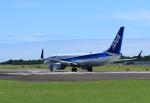 ひめままさんが、宮崎空港で撮影した全日空 737-881の航空フォト(写真)