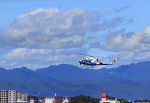 ひめままさんが、宮崎空港で撮影した宮崎県防災救急航空隊 412EPの航空フォト(写真)