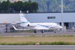 myoumyoさんが、熊本空港で撮影した静岡エアコミュータ Falcon 2000EXの航空フォト(写真)