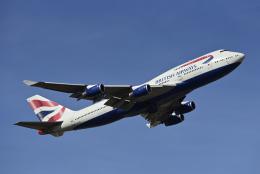 Frankspotterさんが、ロンドン・ヒースロー空港で撮影したブリティッシュ・エアウェイズ 747-436の航空フォト(飛行機 写真・画像)