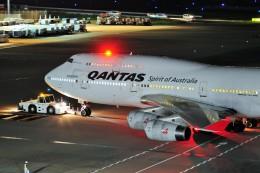 M.Ochiaiさんが、羽田空港で撮影したカンタス航空 747-438の航空フォト(飛行機 写真・画像)