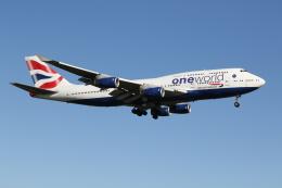 taka777さんが、ロンドン・ヒースロー空港で撮影したブリティッシュ・エアウェイズ 747-436の航空フォト(飛行機 写真・画像)