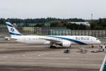 xingyeさんが、成田国際空港で撮影したエル・アル航空 787-9の航空フォト(写真)