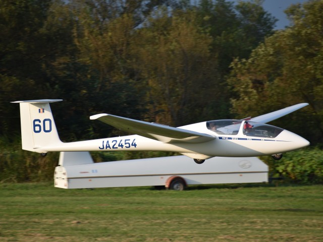 とびたさんが、妻沼滑空場で撮影した日本個人所有 ASK 21の航空フォト(飛行機 写真・画像)