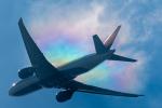 みぐさんが、成田国際空港で撮影したデルタ航空 777-232/LRの航空フォト(写真)