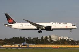 sky-spotterさんが、成田国際空港で撮影したエア・カナダ 787-9の航空フォト(写真)