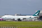 SGR RT 改さんが、成田国際空港で撮影したキャセイパシフィック航空 747-467F/ER/SCDの航空フォト(写真)