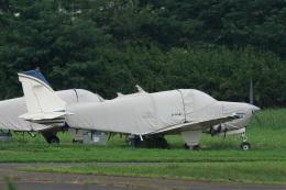 神宮寺ももさんが、ホンダエアポートで撮影したエアロスペースナガノ A36 Bonanza 36の航空フォト(飛行機 写真・画像)