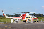 banshee02さんが、龍ケ崎飛行場で撮影した朝日航洋 412の航空フォト(写真)