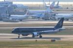 Hiro-hiroさんが、羽田空港で撮影したスターフライヤー A320-214の航空フォト(写真)
