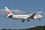qooさんが、高松空港で撮影した日本航空 767-346/ERの航空フォト(写真)