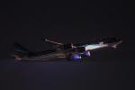 ミソカツさんが、成田国際空港で撮影したアゼルバイジャン航空 A340-542の航空フォト(写真)