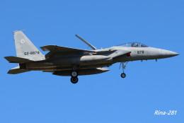 RINA-281さんが、小松空港で撮影した航空自衛隊 F-15J Eagleの航空フォト(写真)