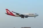 takoyanさんが、ロサンゼルス国際空港で撮影したカンタス航空 747-438の航空フォト(写真)