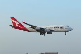 takoyanさんが、ロサンゼルス国際空港で撮影したカンタス航空 747-438の航空フォト(飛行機 写真・画像)