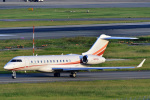 HISAHIさんが、福岡空港で撮影したプライベートエア BD-700 Global Express/5000/6000の航空フォト(写真)