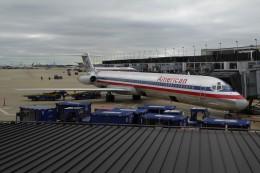 SIさんが、オヘア国際空港で撮影したアメリカン航空 MD-82 (DC-9-82)の航空フォト(飛行機 写真・画像)