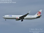 masarunphotosさんが、スワンナプーム国際空港で撮影したアルキア・イスラエル・エアラインズ 767-306/ERの航空フォト(写真)